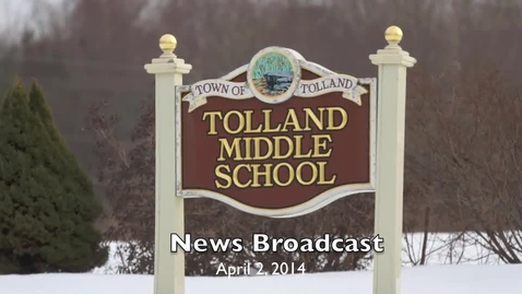 Thumbnail for entry TMS News Broadcast 4-2-14