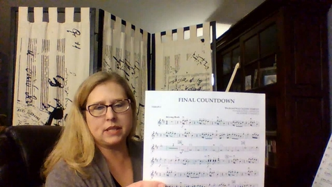 Thumbnail for entry Final Countdown Violin