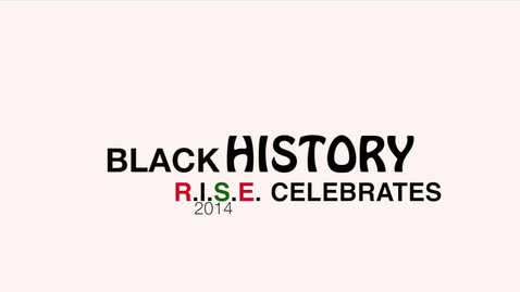 Thumbnail for entry Black History Month celebration with Ladue R.I.S.E