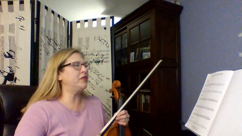 Thumbnail for entry 8th Gr VIOLIN Vanguard Week 5