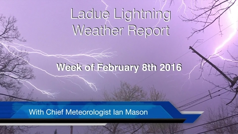 Thumbnail for entry LHSTV Weather for the Weekend of February 11th