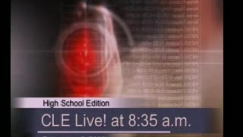 Thumbnail for entry CLE Live! (High School Edition)