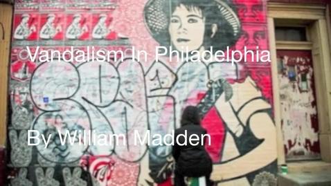 Thumbnail for entry vandalism in Philadelphia