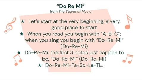 Thumbnail for entry Do-Re-Mi (lyric video)