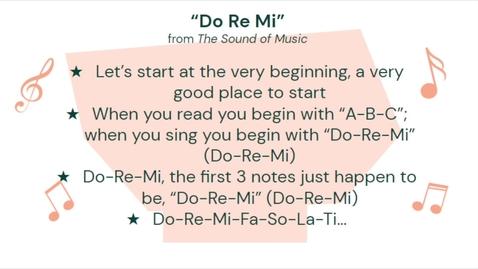 Thumbnail for entry Do-Re-Mi (lyric video)