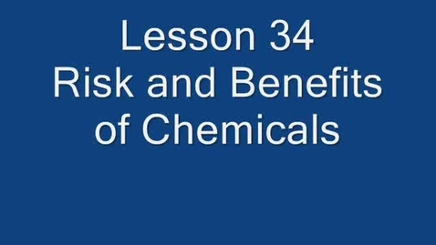 Thumbnail for entry Greene - Risks and Benefits of Chemicals - HJM