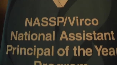Thumbnail for entry 2011 NASSP/Virco Assistant Principal of the Year: Rick Rushworth