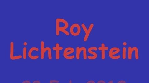 Thumbnail for entry ROY LICHTENSTEIN INSPIRED ARTWORK