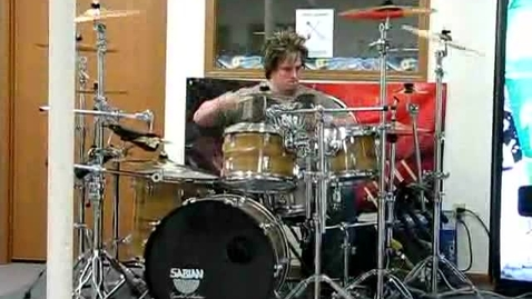 Thumbnail for entry Jimmy's Drum Demonstration