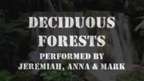 Thumbnail for entry Deciduous Forests