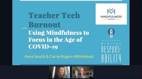 Thumbnail for entry Avoid Teacher Burnout
