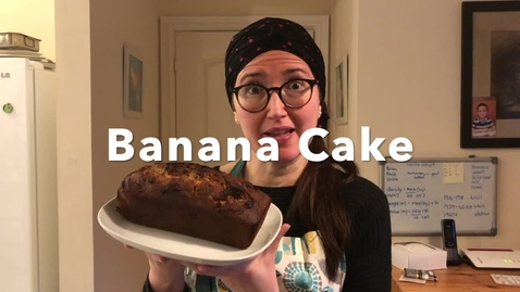 Thumbnail for entry Banana Cake