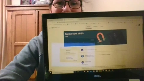 Thumbnail for entry Google Classroom tips Blunder