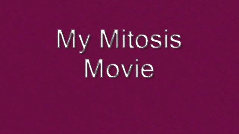 Thumbnail for entry Mitosis Movie
