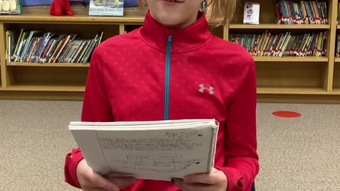 Thumbnail for entry Madeline  Derry- 6th Grade