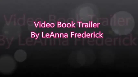 Thumbnail for entry The Fault in Our Stars by Green Video Book Trailer by LeAnna Frederick