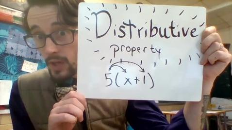 Thumbnail for entry Unit 3 - Distributive property