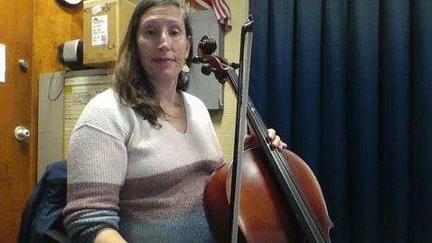Thumbnail for entry Cello Lesson #4: Week of October 26, 2020