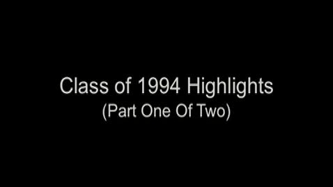 Thumbnail for entry PS/IS 41's Class of 1994 Highlight - (Part 1 of 2)