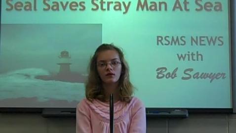Thumbnail for entry Seal Saves Stray Man at Sea