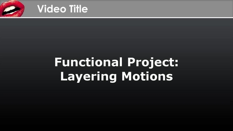 Thumbnail for entry CrazyTalk Animator Functional Project - Layering Motions