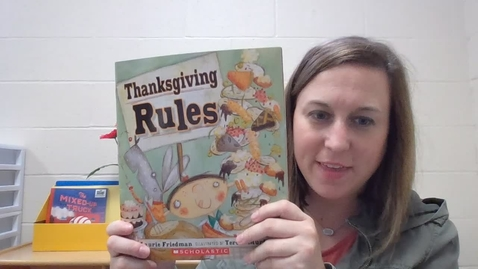 Thumbnail for entry Thanksgiving Rules
