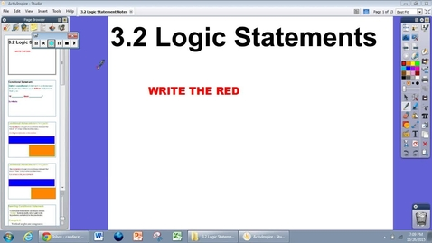 Thumbnail for entry 3.2 Logic Statements