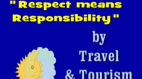 Thumbnail for entry Respect Week- Responsibility