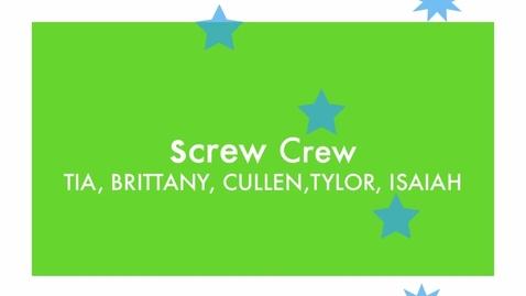 Thumbnail for entry Chikamori's Screw Crew