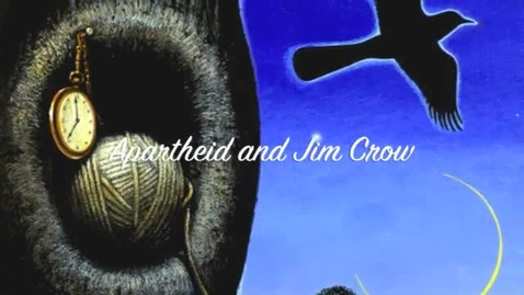 Thumbnail for entry TKAM:Apartheid and Jim Crow Laws
