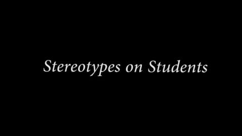Thumbnail for entry Stereotypes - WSCN (2015/2016)