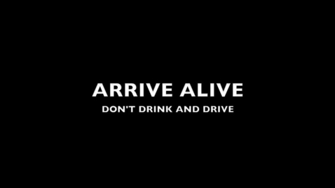 Thumbnail for entry Don't Drink and Drive PSA