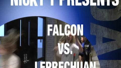 Thumbnail for entry FALCON vs LEPRECHAUN
