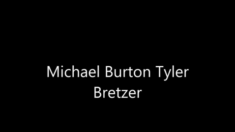 Thumbnail for entry Michael Burton  - Engineer