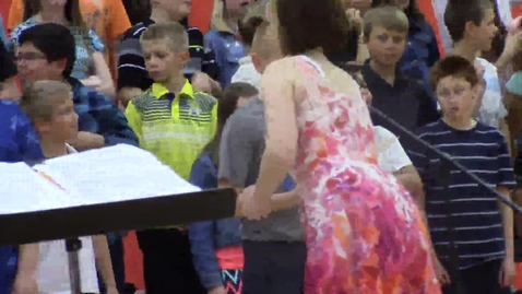 Thumbnail for entry Rock Ledge Fifth Grade Spring Music concert  - part 4