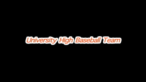 Thumbnail for entry UHS Baseball