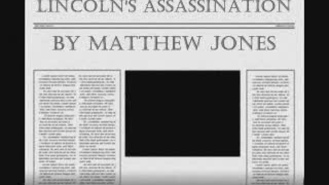 Thumbnail for entry Lincoln's Assassination