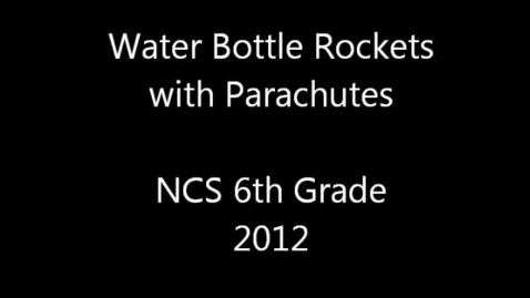 Thumbnail for entry Water Bottle Rockets With Parachutes