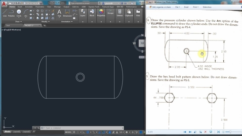 Thumbnail for entry AutoCAD LESSON 3H-4