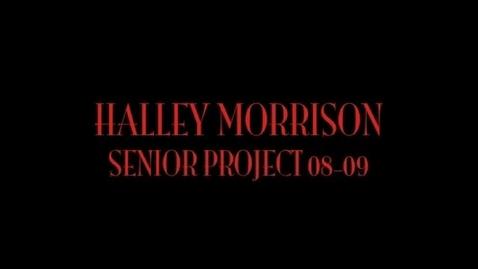 Thumbnail for entry CMR Senior Project Sample 3