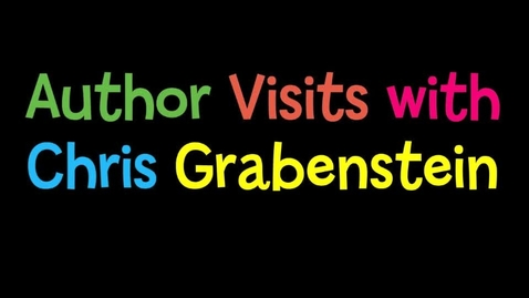 Thumbnail for entry Author Chris Grabenstein's School Visits
