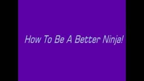 Thumbnail for entry Larissa Irvine Ninja Challenge