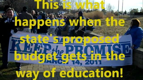 Thumbnail for entry Rally to Keep the Promise