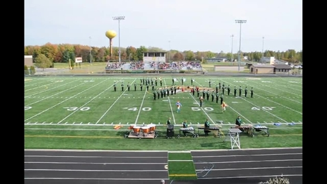 Thumbnail for entry Harrison High School Marching Wildcats compete at Western Brown 10-13-12