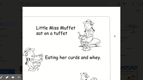 Thumbnail for entry Little Miss Muffet
