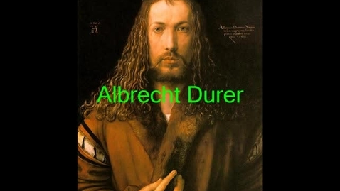 Thumbnail for entry Albrecht Durer