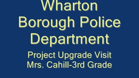 Thumbnail for entry WPD Visit - Project Upgrade