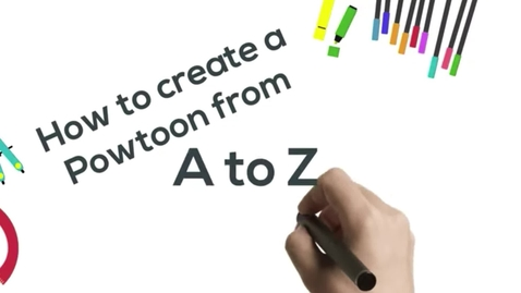 Thumbnail for entry How to Make a Powtoon from A to Z in Just a Few Minutes