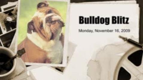 Thumbnail for entry Bulldog Blitz 4 November 16, 2009