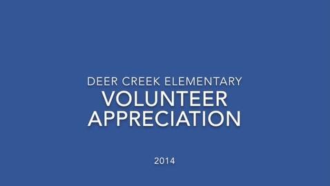 Thumbnail for entry Volunteer Video 2014